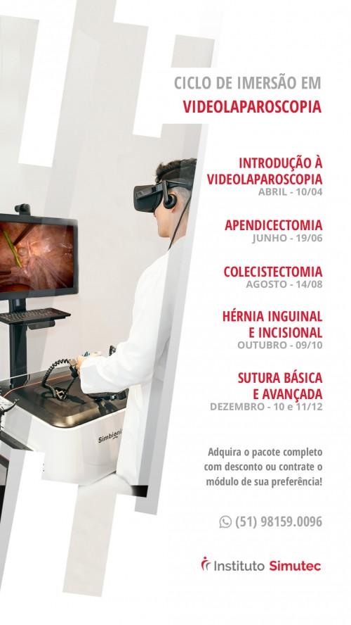 Novo projeto de ensino em Videocirurgia Instituto - SIMUTEC