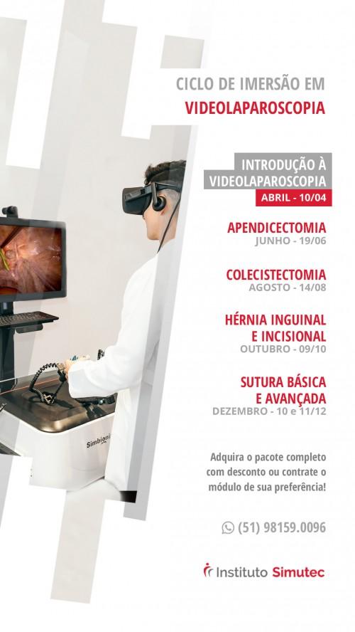 Ciclo de Imersão em Videolaparoscopia